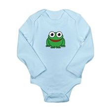 Happy Frog Long Sleeve Infant Bodysuit