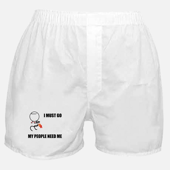 Nothing To Do Here Boxer Shorts