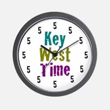 Key West Time Wall Clock