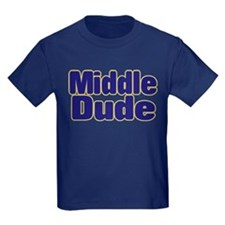 MIDDLE DUDE (dark blue) T