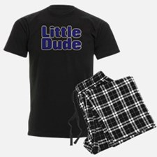 LITTLE DUDE (dark blue) Pajamas