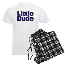 LITTLE DUDE (dark blue) Pajamas