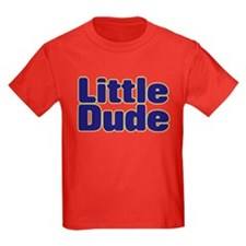 LITTLE DUDE (dark blue) T