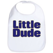LITTLE DUDE (dark blue) Bib