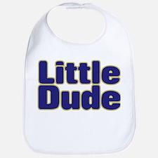 LITTLE DUDE (dark blue) Bib