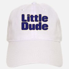 LITTLE DUDE (dark blue) Baseball Baseball Cap