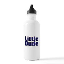 LITTLE DUDE (dark blue) Water Bottle
