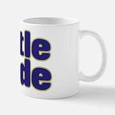 LITTLE DUDE (dark blue) Small Small Mug