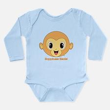 Buddha Monkey™ Long Sleeve Infant Bodysuit