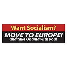 Anti-Obama Bumper Bumper Sticker
