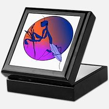 Praying Mantis Meditation Keepsake Box