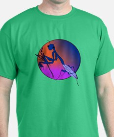 Praying Mantis Meditation T-Shirt