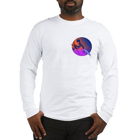 Praying Mantis Meditation Long Sleeve T-Shirt