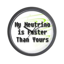 My Neutrino Wall Clock
