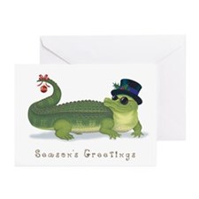 Christmas Alligator Greeting Cards (Pk of 20)