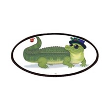 Christmas Alligator Patches