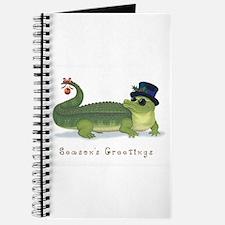 Christmas Alligator Journal