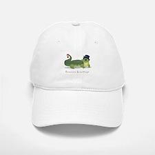 Christmas Alligator Baseball Baseball Cap