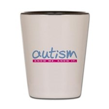 Autism Periwinkle Shot Glass