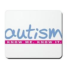 Autism Periwinkle Mousepad