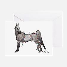 Cool Saddlebred Greeting Card