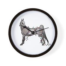Unique American saddlebred Wall Clock