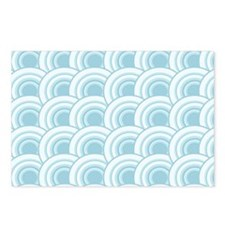 Rescales Blue Postcards (Package of 8)