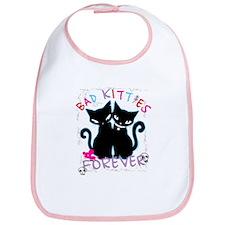 Bad Kitties Forever Bib