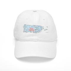 CienciaPR Map Baseball Cap