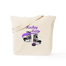 Hockey Mom - Purple Tote Bag