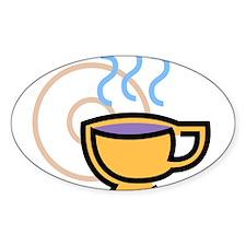 Coffee201 Oval Decal