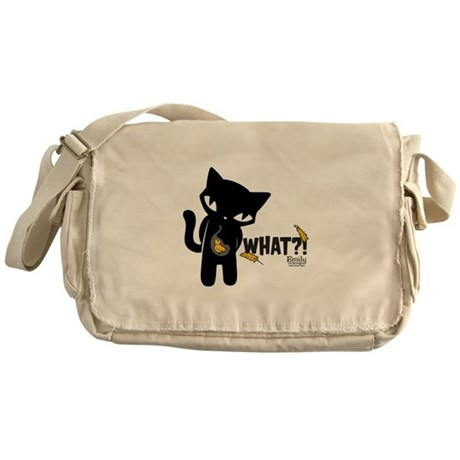 What?! Messenger Bag