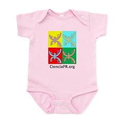Colorful CienciaPR Infant Bodysuit