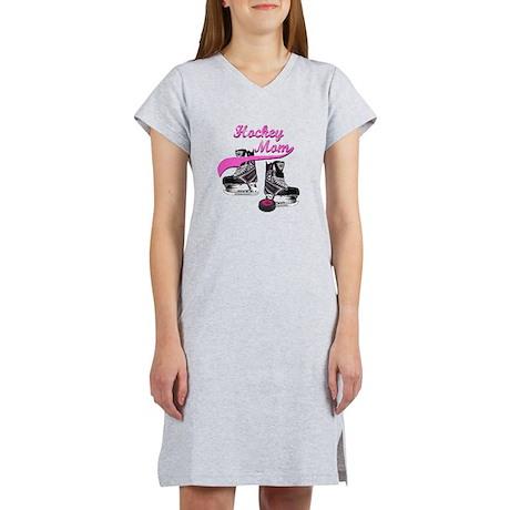 Hockey Mom - Purple Women's Nightshirt