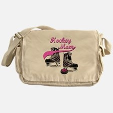 Hockey Mom - Purple Messenger Bag