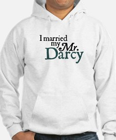 Jane Austen Married Darcy Hoodie