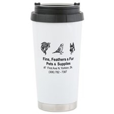 Fins, Feathers, and Fur Travel Mug