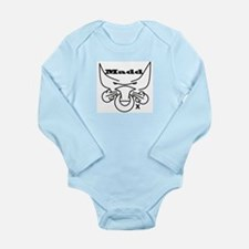 Madd Ox Logo Long Sleeve Infant Bodysuit