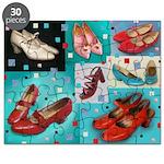 Vintage Shoe Puzzle