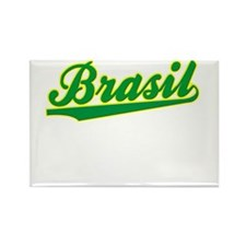 Brazil World Cup Rectangle Magnet