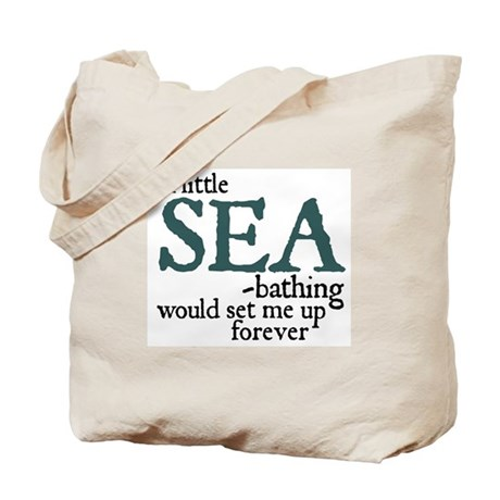 Sea Bathing Tote Bag #2