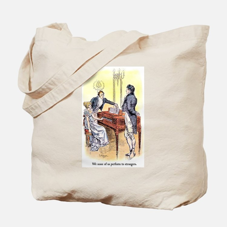 You mean to frighten Tote Bag
