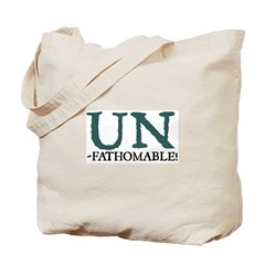 Jane Austen Unfathomable Tote Bag