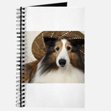 Girl in a hat Journal