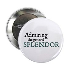 Jane Austen Splendor Button