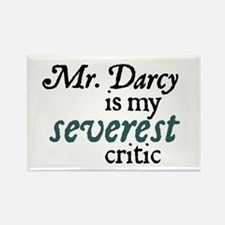 Jane Austen Severest Rectangle Magnet