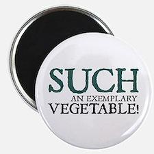 Jane Austen Vegetable Magnet