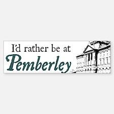 Pemberley Bumper Bumper Bumper Sticker