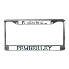 Pemberley License Plate Frame