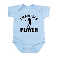 I'm a bit of a player american football Infant Bod